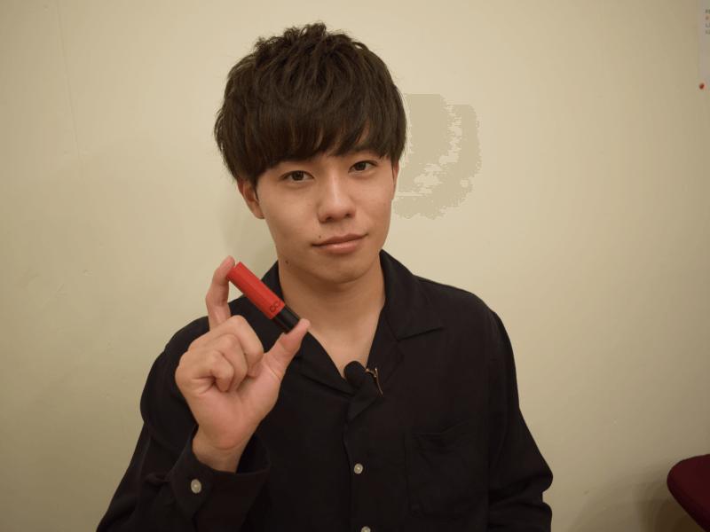 m_26_5,色付きリップ 男