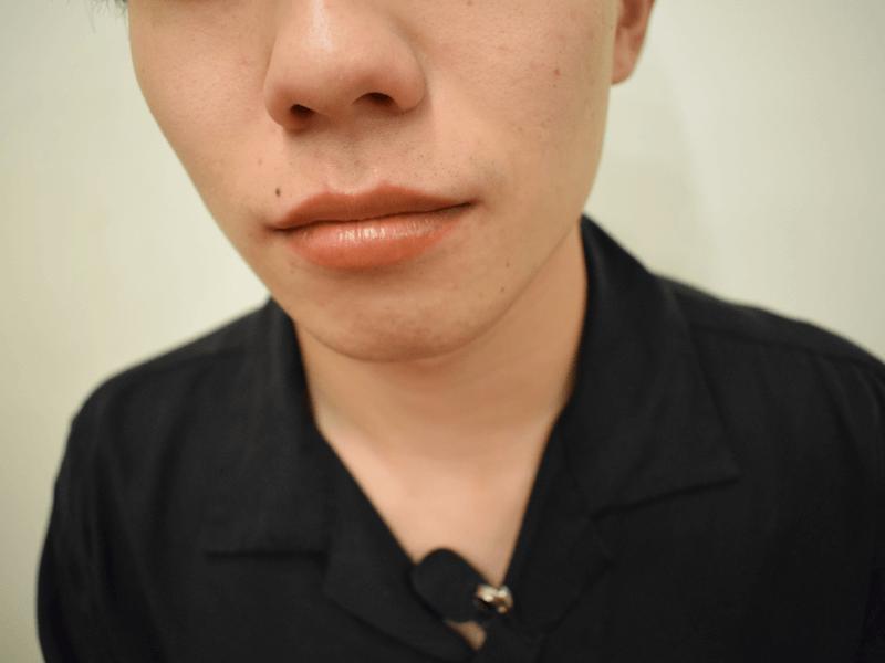 m_26_2,色付きリップ 男