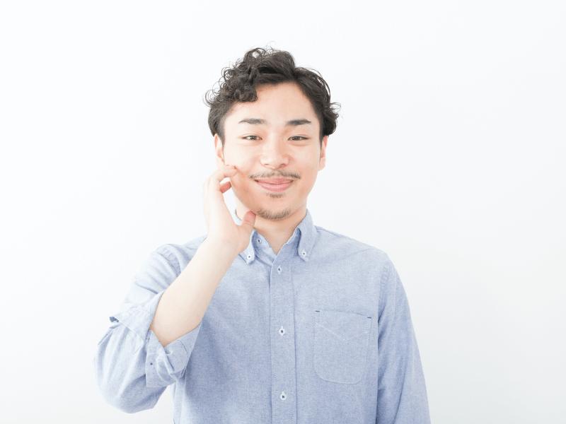 h_43_4,天然パーマ 男