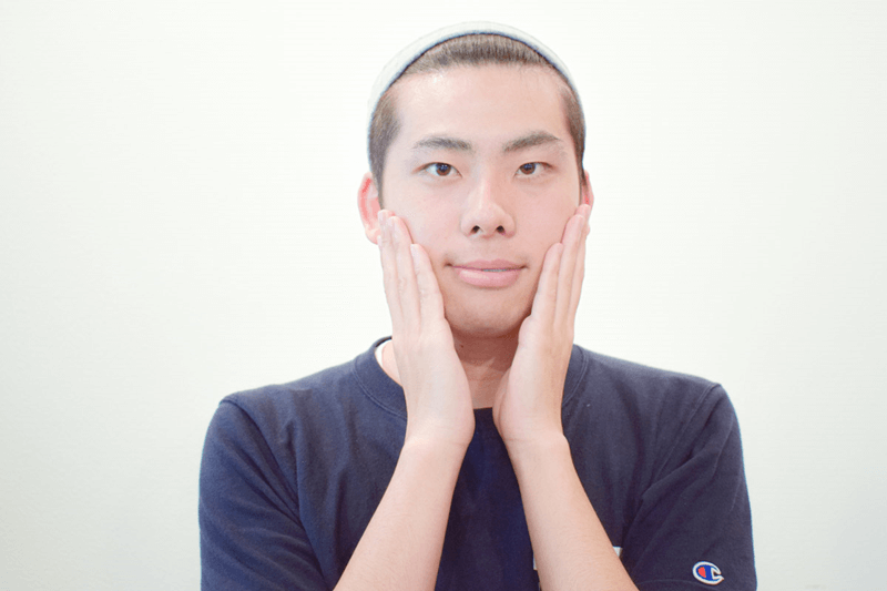 m_62_2, 男 シミ 隠す
