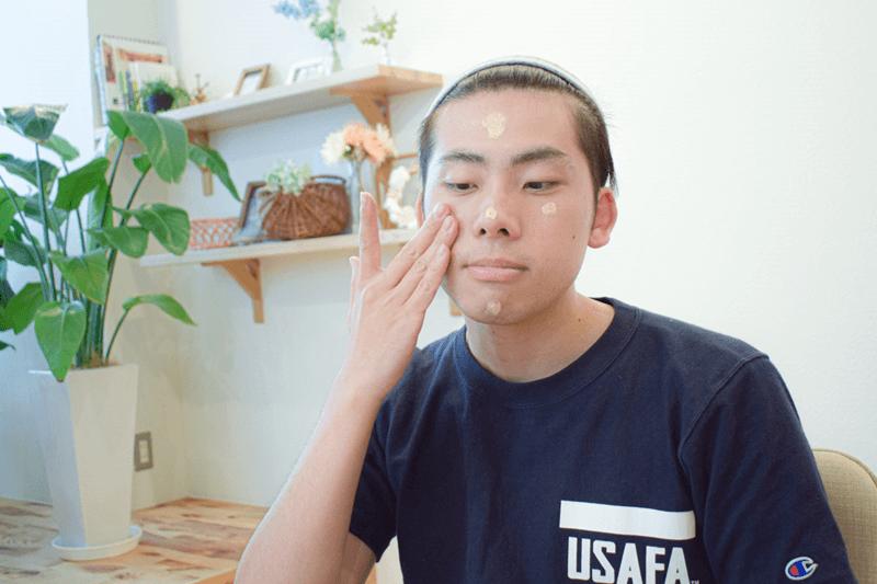 m_62_6, 男 シミ 隠す